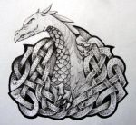 dragon knot by knotty-inks
