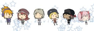 Twewy Stickers by Levinne