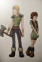 HTTYD - Gender Bend by MidoriEyes