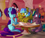 Midday Meet-Up by TheStarsofPines