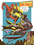 Spider vs Batman - C2E2  Expo 2014 by christiano-bill