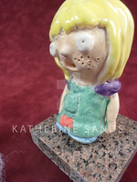 Clay Figure Side Detail 1 by waterfish5678901
