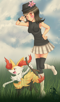 Pokemon X Trainer by oBby190