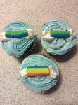Rainbow Dash Cupcakes by Jeanettefan18