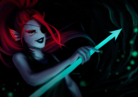 Undyne [+Video Process] by sasoes