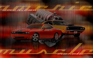american muscle wall paper by istarlome