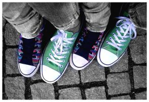 Converse couple(s) by What-is-worth