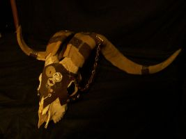 Steam Punk Ram Skull by silent-assassin-XIII