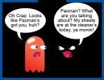 Pacman Funny 2 by Inspectornills