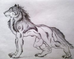 Lycan by BlueWolf2995