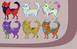 Cat Adopt Sheet 1 by Millennium-Star