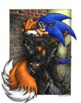 Commission: Evil Sonic + Tails by souldreamx