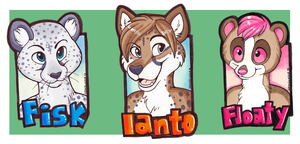 Mini Badges by NeonSlushie