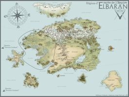 ReDream - Carte de l'Empire by ValkAngie