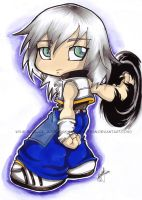 Chibi KH2 Riku - gift by KeyshaKitty