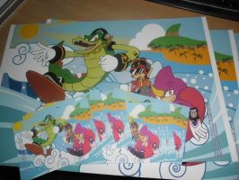 Chaotix prints by adamis