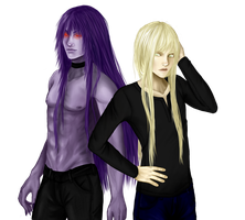Rae and Distra by Susurrou