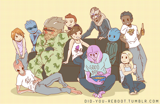 Movie Night by did-you-reboot
