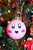 Kirby Chrismas Ornament by MeMiMouse