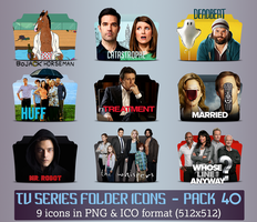 TV Series - Icon Pack 40 by apollojr