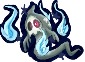 Day 18- Duskull by Paper-HM01