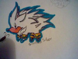 Silver the hedgehog by SadexTammy