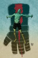 AbeSapien Color by kevinmellon