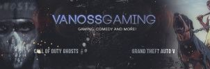 YouTube Banner for VanossGaiming by Cosy38