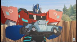 Optimus Prime RID 2015 03 by SpiderDetentionaire