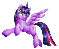 Twilight Sparkle by Alanymph