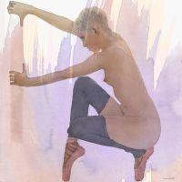 Straining On Pointe by ianwh