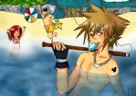 KH SUMMERTIME! by Mangaloverotaku22