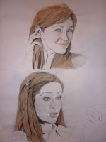 Autumn Reeser Portraits - DTB2 by Fatmarco