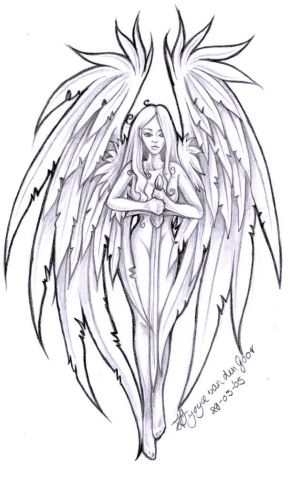 Grieving+angel+tattoo