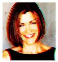 3D Effect: Wendie Malick by Sphynxxie