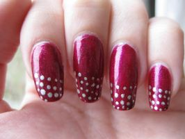 French Polka - Nail Art by Zomijas