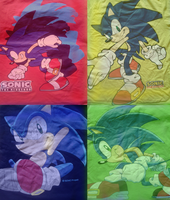 My sonic tees by xRubiMalonex