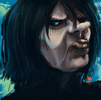 Snape by scales