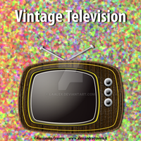 Vintage TV by LaAlex