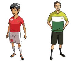 Arif Suyono and Alfred Riedl by paragraphworld
