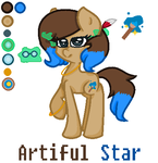 Artiful Star's Oc Guide by DoctressWhooves11
