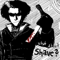 SWEENEY TODD shave by javvie