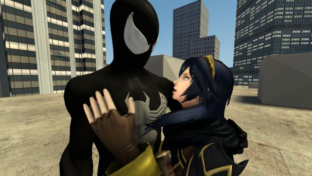 Spider-Man and Lucina : The Darkness is Consuming by kongzillarex619