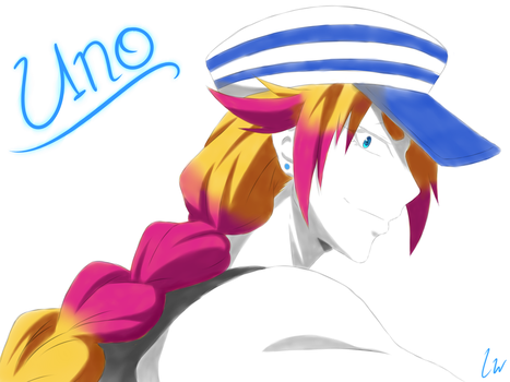 Nanbaka Wallpaper - Uno (2/4) by Linkwolf64