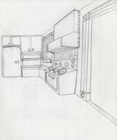 Kitchen Concept by SirCartoon
