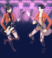:MMD: The Ackermans by RockfanXYuki