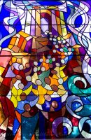 The Messianic Age-Stained Glass by MariaWillhelm