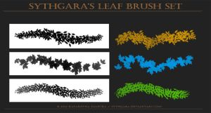 Leaves Brush Set by Sythgara