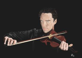 Holmes the violonist by Bilou020285