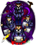 Security Guards by maryalice21